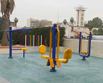 Instalación de parques biosaludables Málaga
