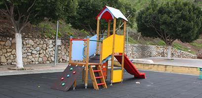 Instalación de parques infantiles Málaga